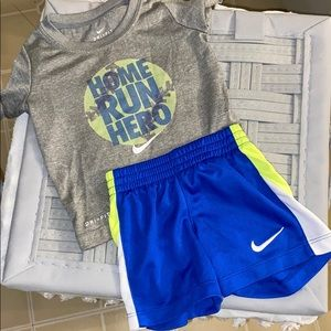 12 months Nike summer outfit